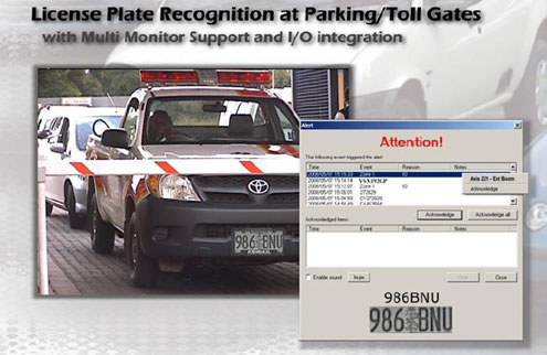 Visec License Plate Module